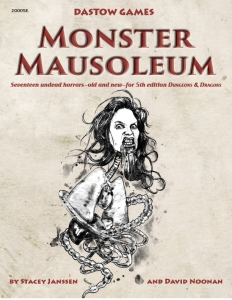 Monster Masoleum